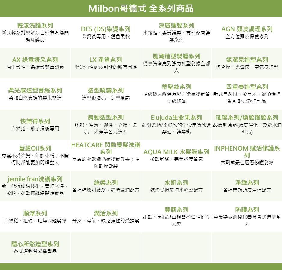 立坽『瞬間護髮』哥德式公司貨 Milbon jemile fran 熱光感護髮素M(柔軟)500g IH15 IH06
