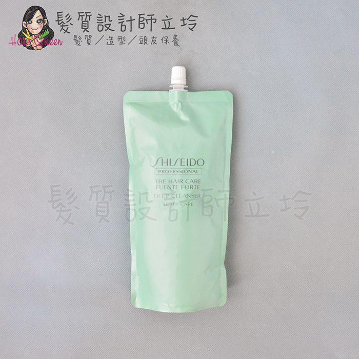 『洗前頭皮調理』法徠麗公司貨 SHISEIDO資生堂 THC 芳泉調理頭皮深層清潔乳450ml(補充包) IH12