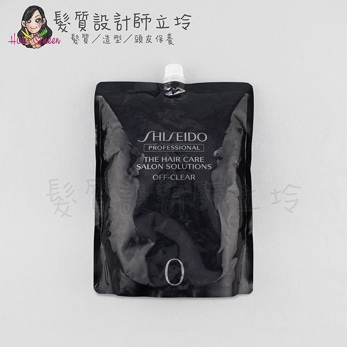 『洗髮精』法徠麗公司貨 SHISEIDO資生堂 全效髮美方程式-0表層淨化(深層清潔洗髮精)1800ml IH12